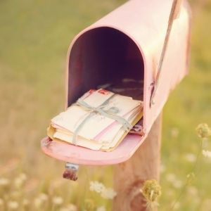 aboringday-cute-doe-deere-girly-letters-mail-Favim